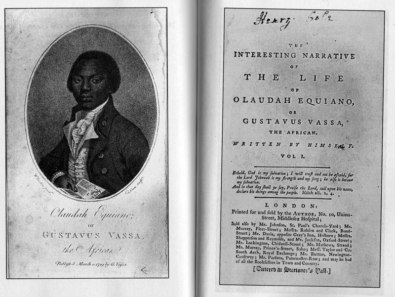 the depiction of the body of a slave in the interesting narrative by olaudah equiano Transcript of the interesting narrative of the life of olaudah the main idea of this passage is the journey of olaudah equiano as a slave across the pacific to.