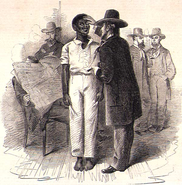 Slaves Being Sold At Auction
