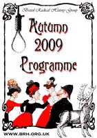 Autumn 2009 Programme
