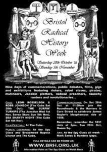 Bristol Radical History Week 2006 Poster