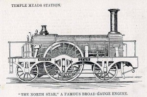 The North Star locomotive.