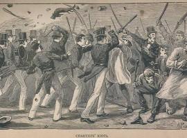 A Chartist Riot