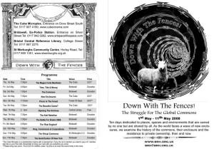 DWTF programme - outside