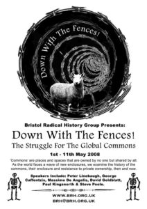 Down With The Fences – The Struggle For The Global Commons Poster