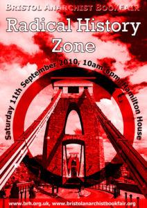 Bristol Anarchist Bookfair 2010 Poster