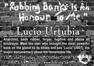 Lucio Urtubia Flyer