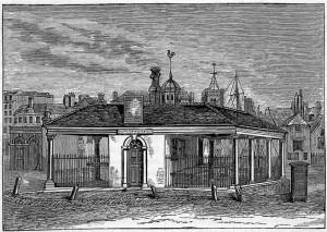 Market House and Sworn Corn Meter's Office (afterwards Goose Market)