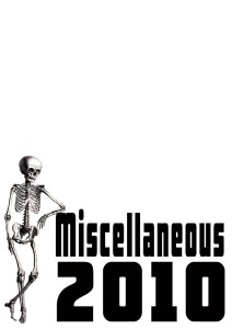 Miscellaneous 2010
