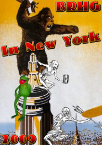 BRHG Take Manhattan Poster