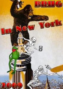 BRHG Take Manhattan Poster