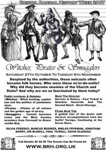 Bristol Radical History Week Poster 2007