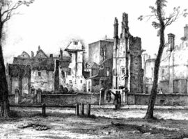 North side of Queen Square, 1832, Rev. Eden.