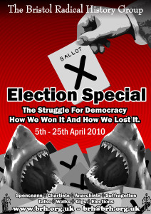 Election Special Shark Poster - Colour