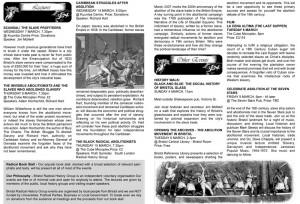 Slavery - The Hidden History Programme - Inside