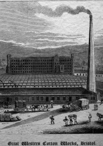 Great Western Cotton Works, Barton Hill Bristol By Samual Loxton
