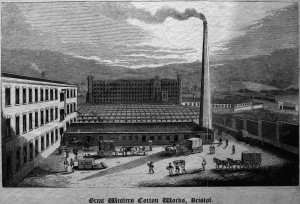 Great Western Cotton Works, Barton Hill Bristol By Samuel Loxton