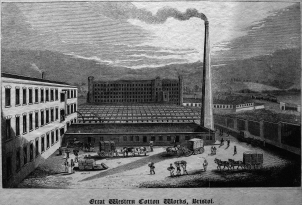 Great Western Cotton Works, Barton Hill Bristol By Samual Loxton