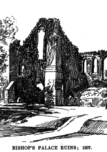 Ruins of the Bishop's Palace by Loxton