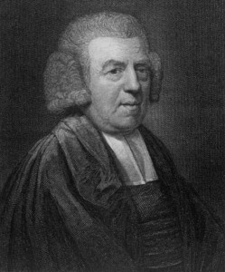 John Newton. Slave ship captain and writer of several hundred hymns including Amazing Grace. He later became an abolitionist.