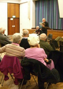 Dorothy Hazard lecture at Broadmead Baptist Church.