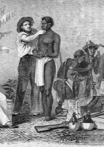 European and African slave traders, 1856.