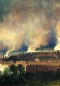 Bristol Burns, 1831, W. J. Müller