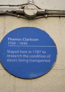 The Bristol Civic Society plaque on The Seven Stars.
