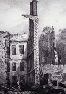 Ruins Opposite The Assembly Rooms, Princes St. Bristol.
