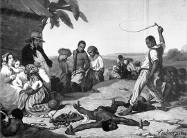 Punishment of the Four Stakes, 1849.