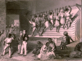 An Interior View of a Jamaica House of Correction, 1834.