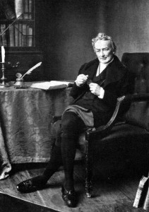 William Wilberforce. The abolition movement's chief voice in Parliament.