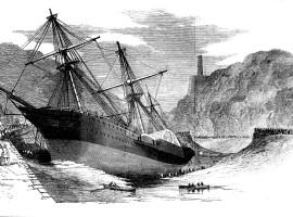 The wreck of the Demerara.