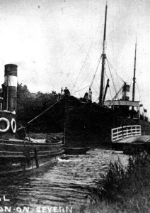 The Mayflower tug.