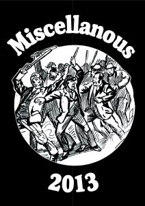 Miscellaneous 2013 Poster