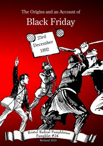 The Origins and an Account of Black Friday – 23rd December 1892 Front Cover