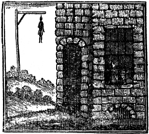 Execution of Maclean commonly known by the name of the gentleman Highway man