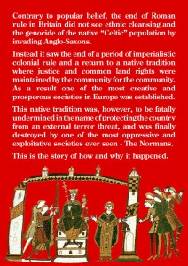 Anglo-Saxon Democracy Back Cover