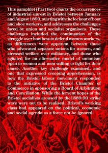 The Bristol Strike Wave of 1889-1890 Back Cover