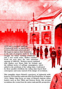 Bristol and the Labour Unrest of 1910-14 Back Cover