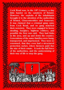 The Cock Road Gang Back Cover