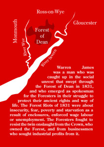 Back Cover The Life And Times Of Warren James – Free Miner Of The Forest Of Dean