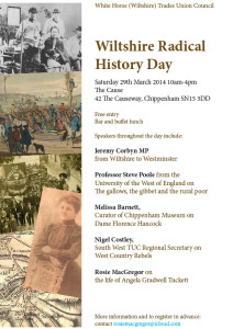 Wiltshire Radical History Day