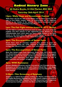 Radical History Zone Flyer 2014 Back