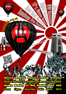 Bristol Anarchist Bookfair 2014 Poster