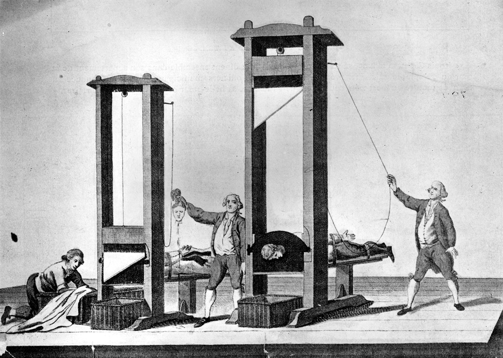 The guillotine, knitting and terror... - Bristol Radical History Group