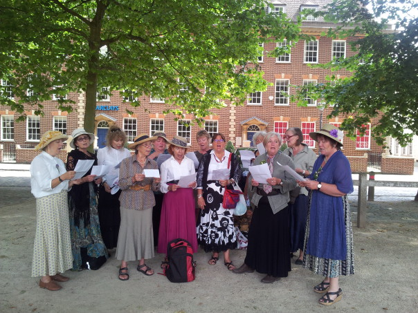 Anti-war Womens' choir