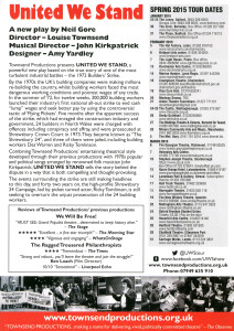 United We Stand Flyer Font