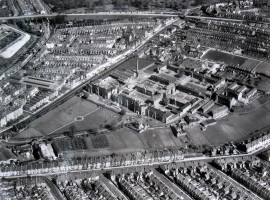 Eastville Workhouse from the air in 1967