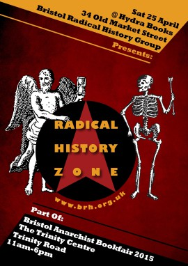 Radical History Zone 2015 Flyer Front