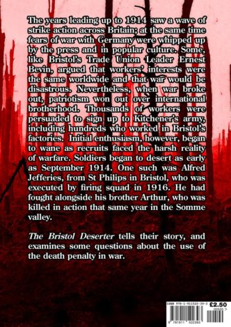 The Bristol Deserter Back Cover